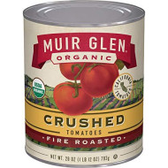 Muir Glen, Organic Crushed Fire Roasted Tomatoes, 12 Cans, 8 Oz