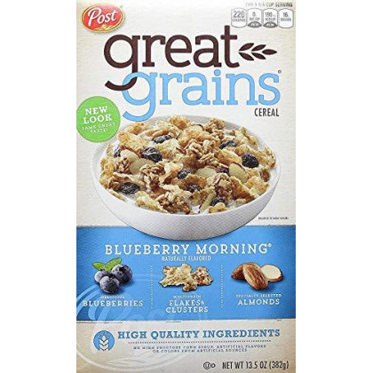 Post Blueberry Morning Cereal, 13.5 oz