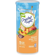 Crystal Light Peach Iced Tea Drink Mix (6 Pitcher Packets)