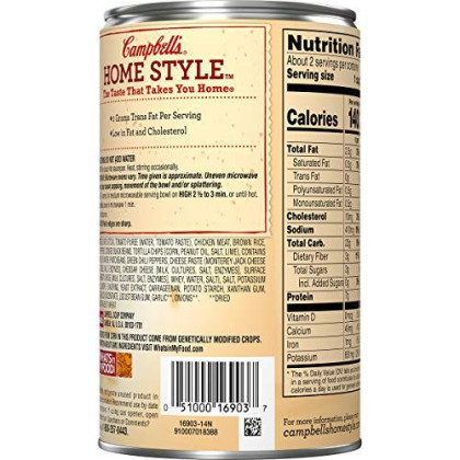 Campbell's Homestyle Healthy Request Mexican-Style Chicken Tortilla Soup, 18.6 oz. (Pack of 12)