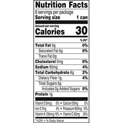 V8 Low Sodium 100% Vegetable Juice, 5.5 Oz. Can (8 Packs Of 6, Total Of 48)
