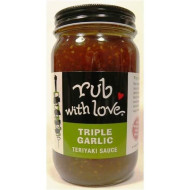 Rub With Love Triple Garlic Teriyaki Sauce By Tom Douglas, 19 Ounce