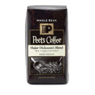Peet's Coffee Major Dickason's Whole Bean Coffee (Dark), 12 oz