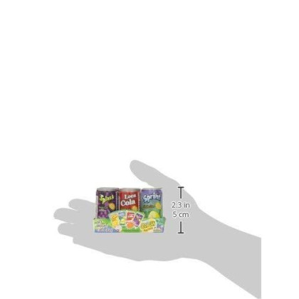 Kidsmania Soda Can Fizzy Candy, 1.47-Ounce Cans (Pack Of 12)