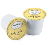 Twinings of London Earl Grey Flavoured Black Tea single serve capsules for Keurig K-Cup pod brewers, 12 count (Pack of 2)