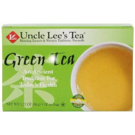 Uncle Lee's Tea, Oriental Green Tea, 20-Count, 1.27 oz (Pack of 6)