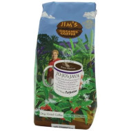 Jim's Organic Ground Coffee, Jo-Jo's Java, 12 Ounce (Pack of 3)