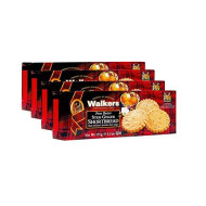 Walkers Shortbread Stem Ginger Shortbread Cookies, 6.2 Ounce Box (Pack of 4)