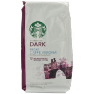 Starbucks Decaf Caffe Verona Ground Coffee, 12 Ounce (Pack of 3)