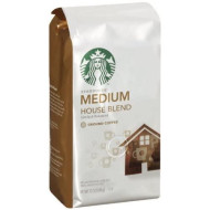 Starbucks House Blend Ground Coffee, 12 Ounce (Pack of 3)