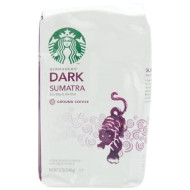 Starbucks Sumatra Ground Coffee, 12 Ounce (Pack of 3)