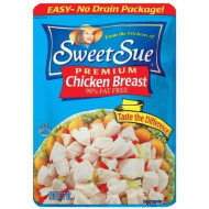 Sweet Sue Premium Chicken Breast, 7-Ounce Pouch (Pack Of 6)