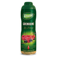 Teisseire Grenadine French Syrup Grenadine Concentrate Large Bottle 750Ml 20Fl.Oz