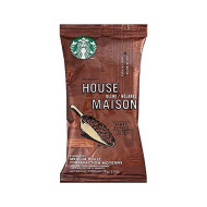 Starbucks(R) House Blend Ground Coffee, Single Pot Servings, Box Of 18