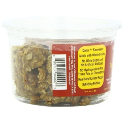 Laura'S Wholesome Junk Food Cookie, Oatmeal Raisin, 7 Ounce (Pack Of 6)