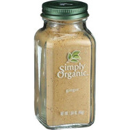 Simply Organic Ground Ginger Root, 1.64 Ounce - 6 Per Case