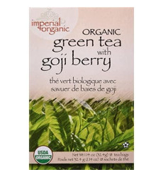 Organic Green Tea with Goji Berry 18 Bag(S)