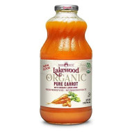 Lakewood Organic Pure Carrot Juice, 32-Ounce Bottles (Pack Of 6)