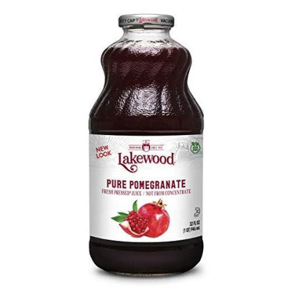 Lakewood Pure Pomegranate Juice, 32-Ounce Bottles (Pack Of 6)