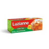 Luzianne Decaffeinated Tea, Tea Bags, 24-Count, 5.25-Ounce Packages (Pack of 4)