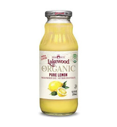 Lakewood Organic Pure Lemon, Fresh Pressed (12.5 Oz, 12 Pack)