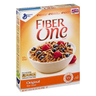 Fiber One Cereal, Original Bran, Whole Grain Cereal, 16.2 Oz