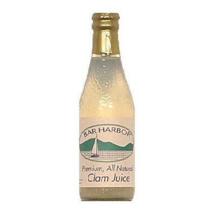 Bar Harbor Pure Clam Juice, 8 Ounce (Pack Of 12)
