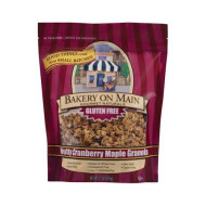Gluten Free Nutty Maple Cranberry Granola Cereal 22 Ounces (Case of 4)