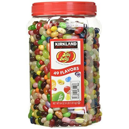 Signature Jelly Belly Jelly Beans, 4-Pound