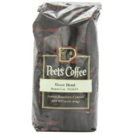 Peet's Coffee & Tea House Blend Ground Coffee, 16-Ounce Bags (Pack of 2)