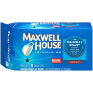 Maxwell House Original Medium Roast Ground Coffee (11.5 oz Bags, Pack of 12)