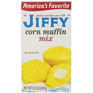 Jiffy Muffin Mix Corn, 8.5-Ounce Boxes (Pack of 24)