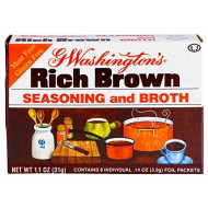 George Washington Broth, Brown, 1.1-ounces (Pack of 24)