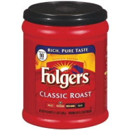 Folgers Coffee Ground Classic Roast Regular, 11.3 Ounce (Pack of 4)