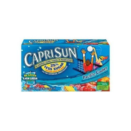 Capri Sun Pacific Cooler 10 Pk (Pack Of 4)