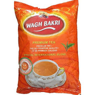 Wagh Bakri Black Premium Loose Tea From Assam Special International Blend (1 Lb)