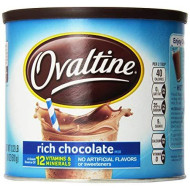 Ovaltine Rich Chocolate Mix, 18-Ounce Canister (Pack Of 3)