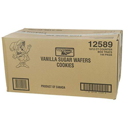 Keebler Sugar Wafer Vanilla, 2.75-Ounce Packages (Pack of 36)