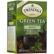 Twinings Mint Green Tea - 20 ct