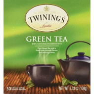 Twinings Tea  All Natural, Certified Kosher Green Tea Bags  50 Count