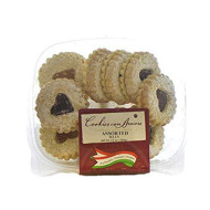 Cookies Con Amore, Assorted Jelly-Filled, 12 Ounce