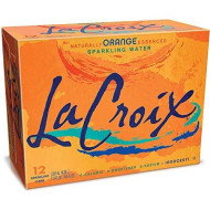 Lacroix Sparkling Water, Orange, 12 Fl Oz (Pack Of 12), Naturally Essenced, 0 Calories, 0 Sweeteners, 0 Sodium