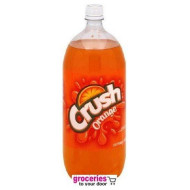 Crush Orange Soda, 2-Liter Bottle (Pack Of 6)