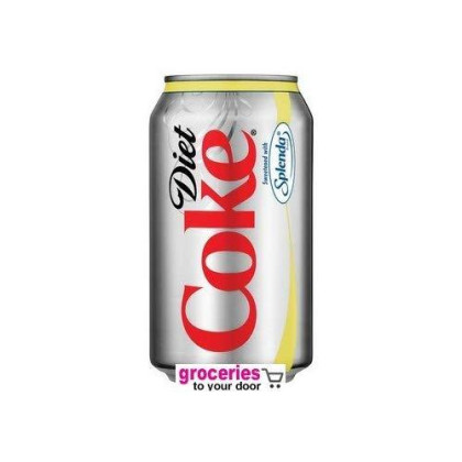 Coke Diet With Splenda Soda, 12 Oz Can (Pack Of 24)