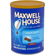 Maxwell House Lite Ground Coffee (11oz Jars, Pack of 3)