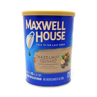 Maxwell House Hazelnut Ground Coffee, 11-Ounce Cannister (Pack of 3)