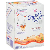 Crystal Light Peach Tea Drink Mix (120 Packets, 4 Boxes of 30)