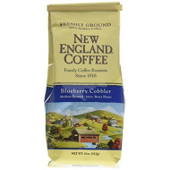 New England Coffee Blueberry Cobbler Coffee - 6 Pack 11oz.