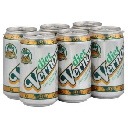 Vernors Soda 6Pk Can Gngrale Diet
