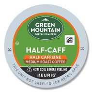 Green Mountain Coffee Roasters Half-Caff, Single Serve Coffee K-Cup Pod, Medium Roast, 24